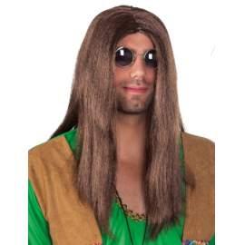 hippie paróka - hosszú barna f34741826a