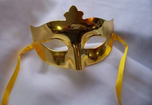 egyszínű álarc - arany