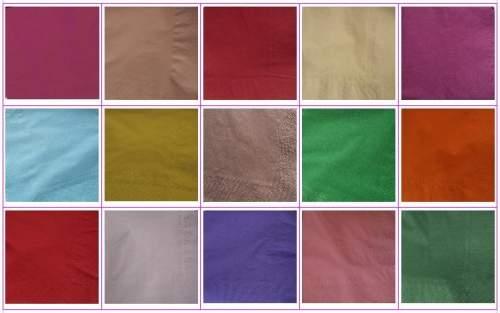33 x 33 cm szalvéta több színben 2 rétegű