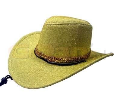 cowboy / western kalap - arany színű