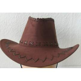 cowboy / western kalap - velúr, több színben