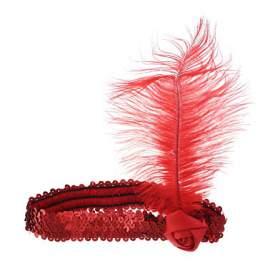 charleston fejpánt - fekete, piros vagy arany színben