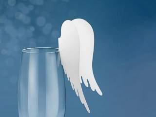 angyalszárny pohárdísz