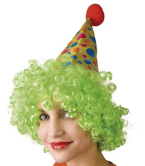 bohóc kalap hajjal