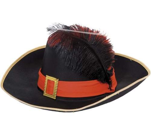 muskétás / testőr kalap (F)