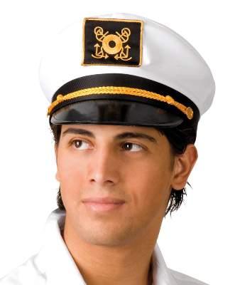 hajóskapitány sapka