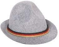 tiroli / bajor kalap - színes szalaggal