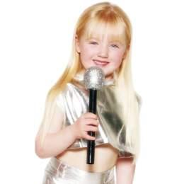 mikrofon - ezüst színben