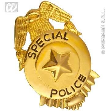 rendőr jelvény
