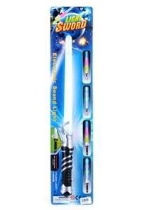 világító lézerkard / fénykard - hangeffektekkel