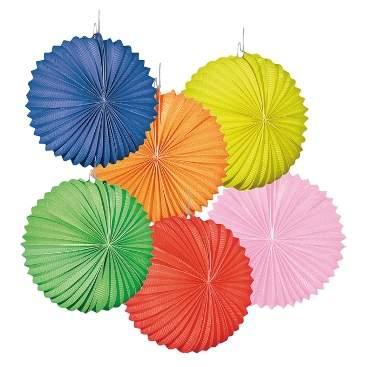 lampion - egyszínű gömb