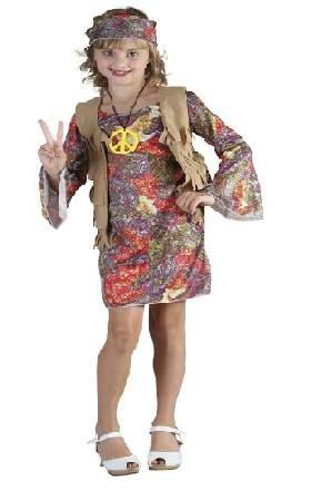 Hippie lány