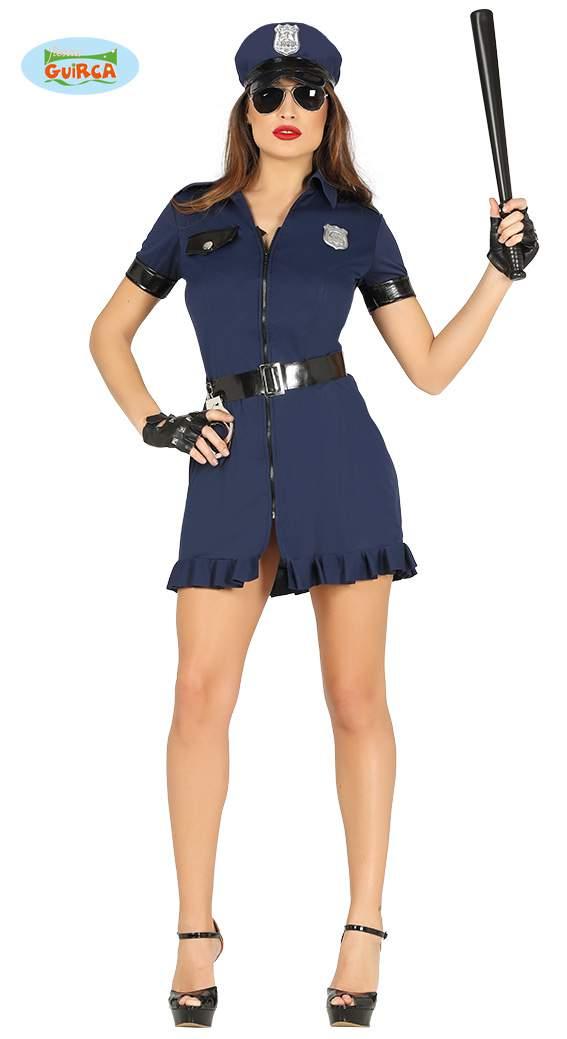 Rendőrnő jelmez