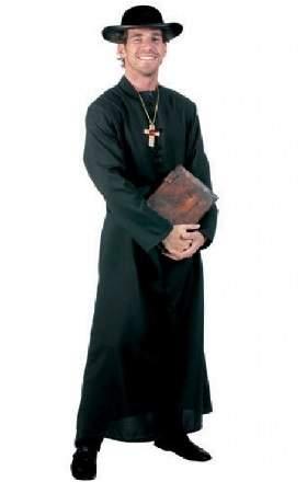 Atya / lelkész / pap jelmez