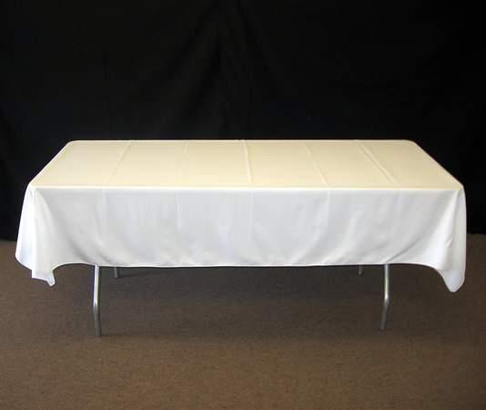 asztalterítő (fehér textil)