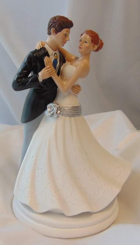tortadísz - esküvői pár