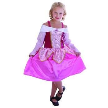 Hercegnő jelmez - rózsaszín (STRTA)