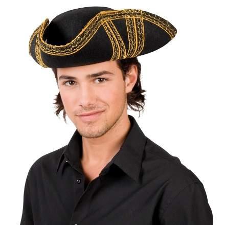 kalózkapitány - textil kalap