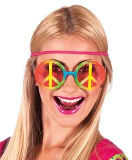 Fesztivál / party szemüveg - hippie szemüveg