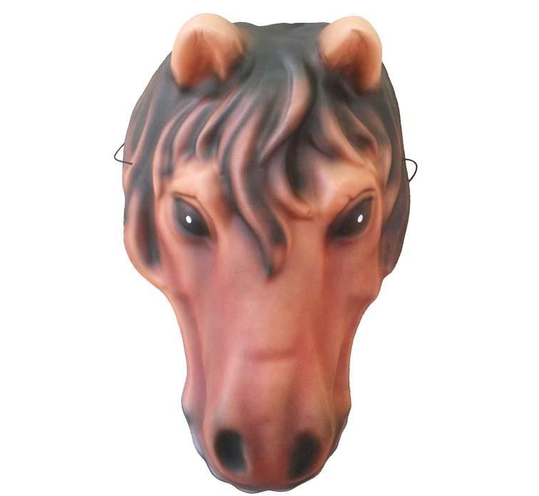 Ló álarc - hab / polifoam