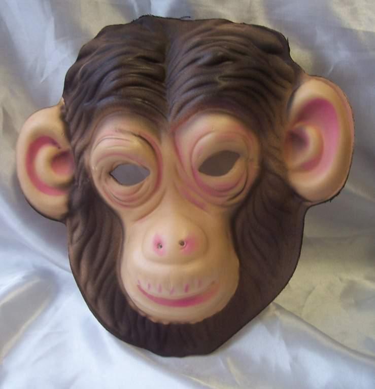 majom álarc - polifoam (gyerek méret)