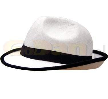 gyerek méretű gengszter kalap -  fehér
