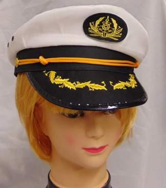 tengerészkapitány sapka
