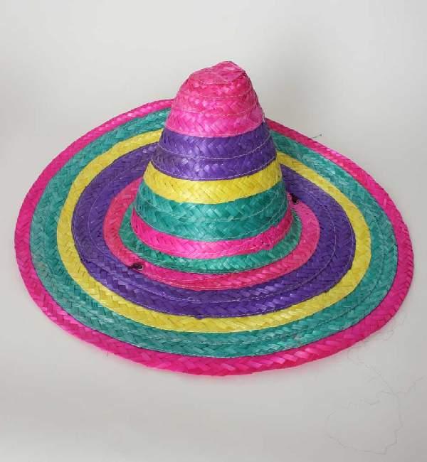 színes sombrero
