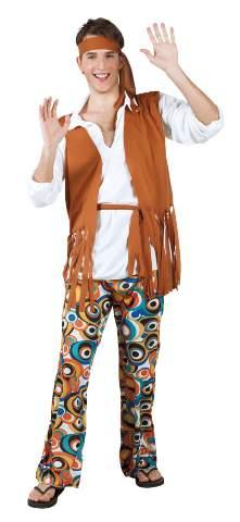 Hippie - fesztiválos férfi jelmez M / L méret