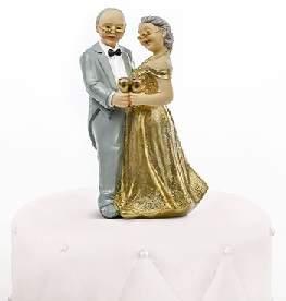 tortadísz - 50. házassági évforduló