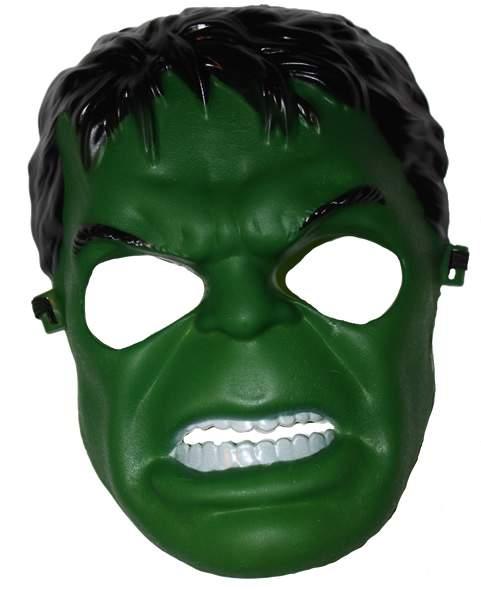 Hulk - műanyag maszk