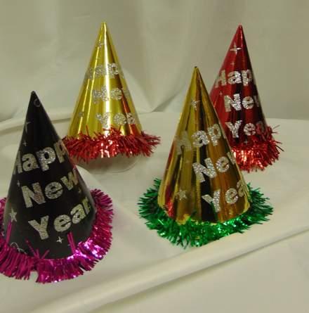 Happy New Year csákó - 10 db vegyes színekben