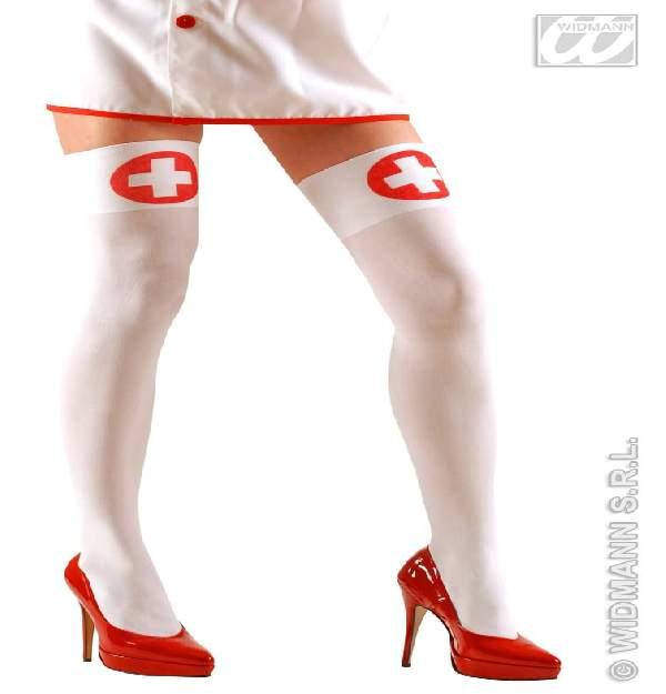 szexi nővérke combfix