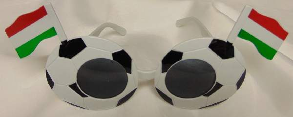 Fesztivál / party szemüveg - focis