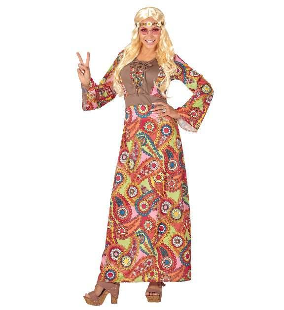 Hippie női fesztiválos ruha
