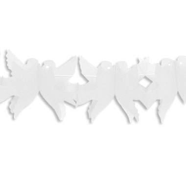 papír girland - galambpár