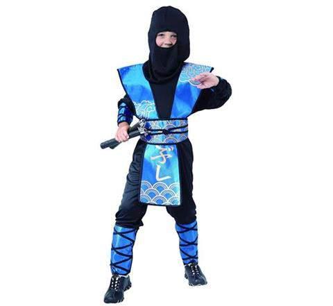 Ninja jelmez - kék