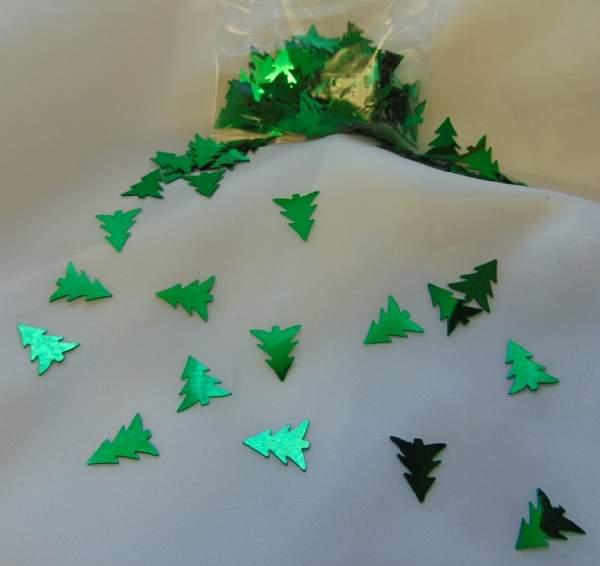konfetti - fenyőfa (10 g)
