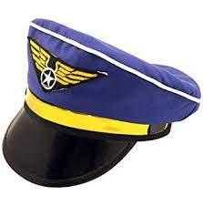 pilóta sapka - kék, felnőtt méret
