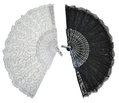 legyező - fehér vagy fekete