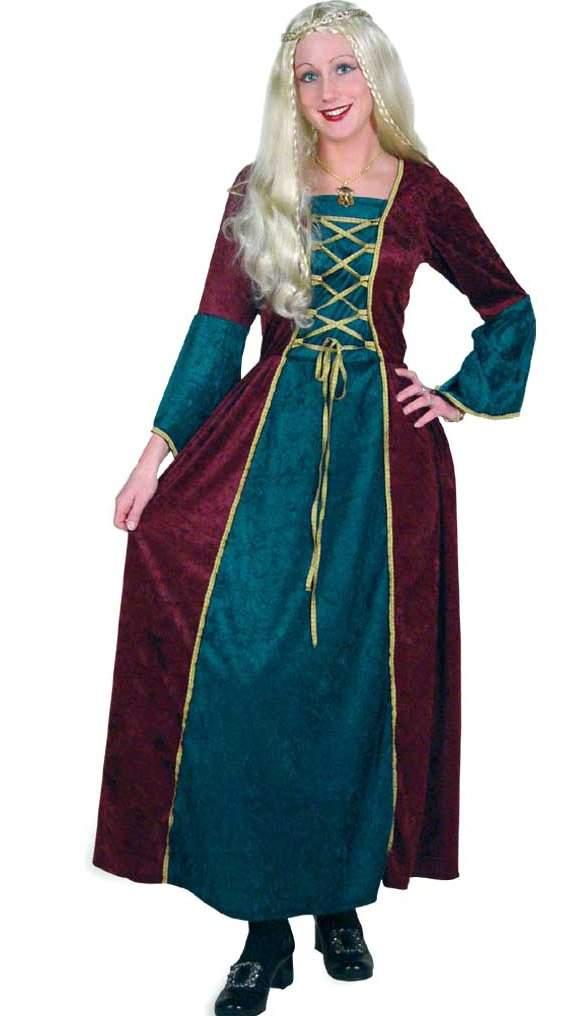 Középkori ruha - kék