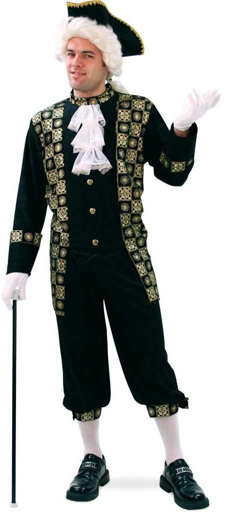 Barokk férfi ruha