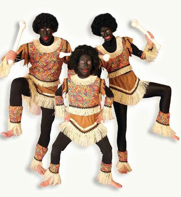 Afrikai, Zulu jelmez 164-es méret