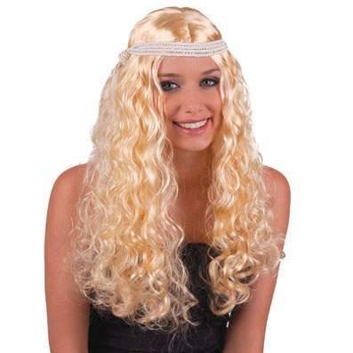hippie paróka - női, szőke