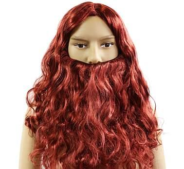 viking paróka és szakáll