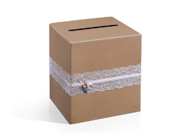 nászajándék gyűjtő doboz - vintage