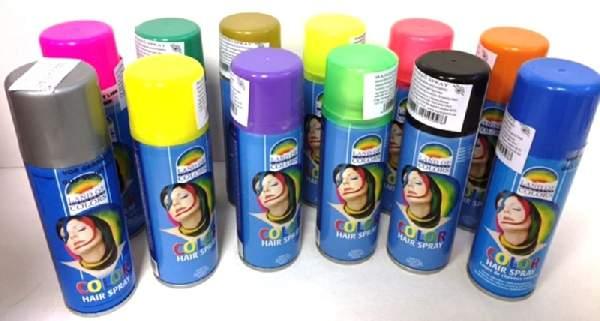 hajszínező spray