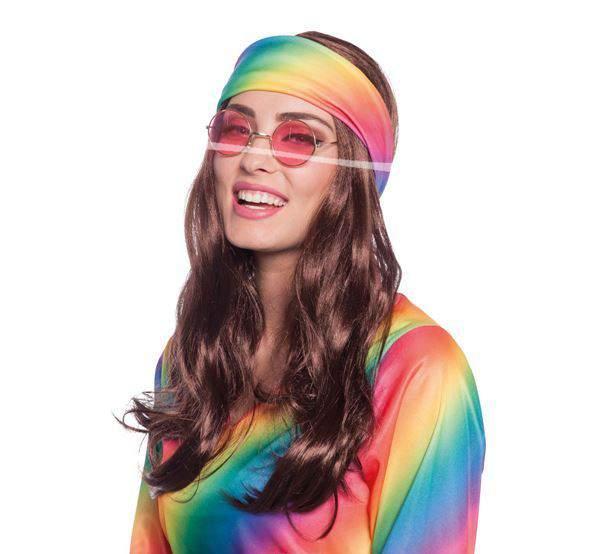 hippie paróka - fejpánttal