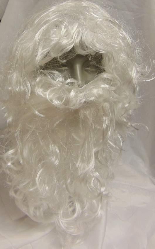 Mikulás / Télapó paróka és szakáll