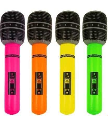 felfújható mikrofon